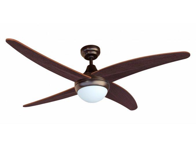 Stropní ventilátor se světlem Sulion 075015 LAZARUS
