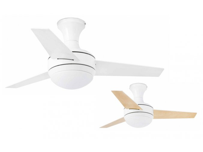 Stropní ventilátor do bytu Faro 33454 Mini-UFO oboustranné lopatky