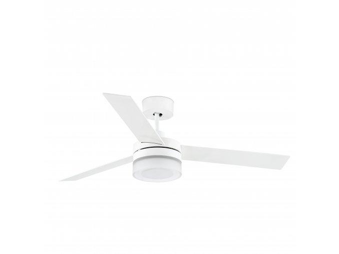 FARO 33459 ICE, bílý a javor, stropní ventilátor zánovní (doba použití 1 týden, záruka 2 roky, neoriginální balení)