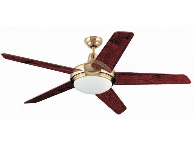 FARO 33136 OVNI, rudý mahagon, stropní ventilátor se světlem  ovládání dálkové