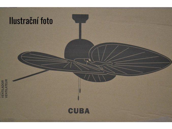 FARO 33352 CUBA, wenge, stropní ventilátor  řetízkové ovládání, dálkové ovládání lze dokoupit