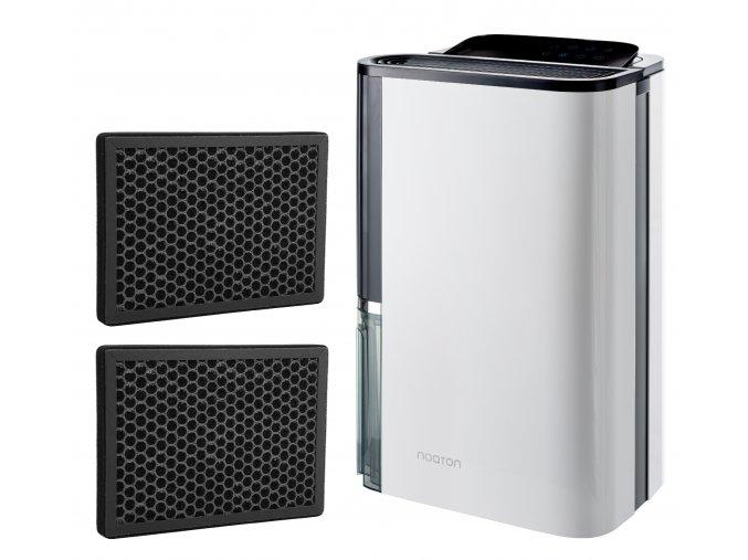 Odvlhčovač a čistička vzduchu Noaton DF 4123 HEPA s dvěma náhradními uhlíkovými filtry