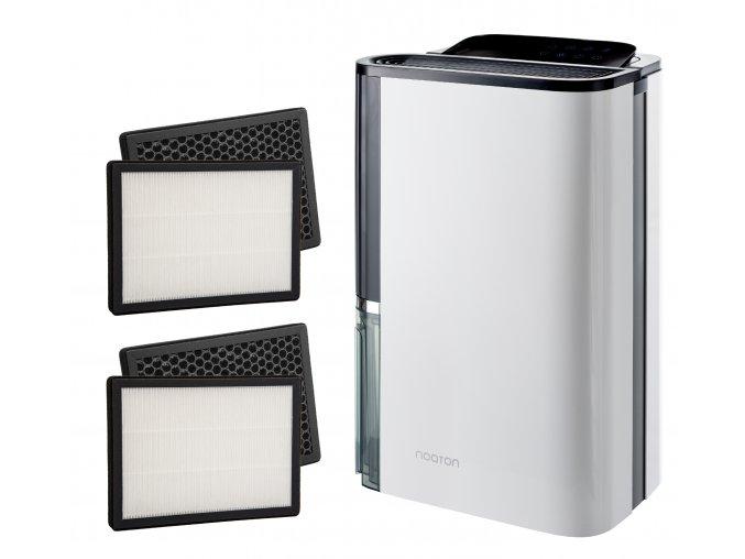 Odvlhčovač a čistička vzduchu Noaton DF 4123 HEPA s dvěma náhradními kombinovanými filtry