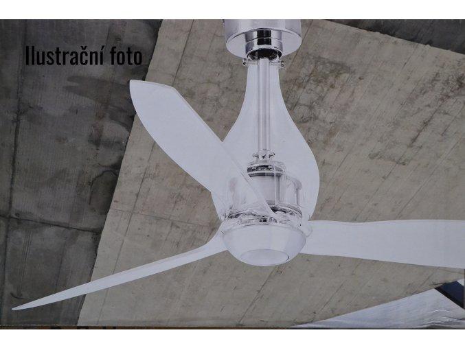 FARO 33382 MINI-ETERFAN, průhledná, stropní ventilátor  dálkové ovládání