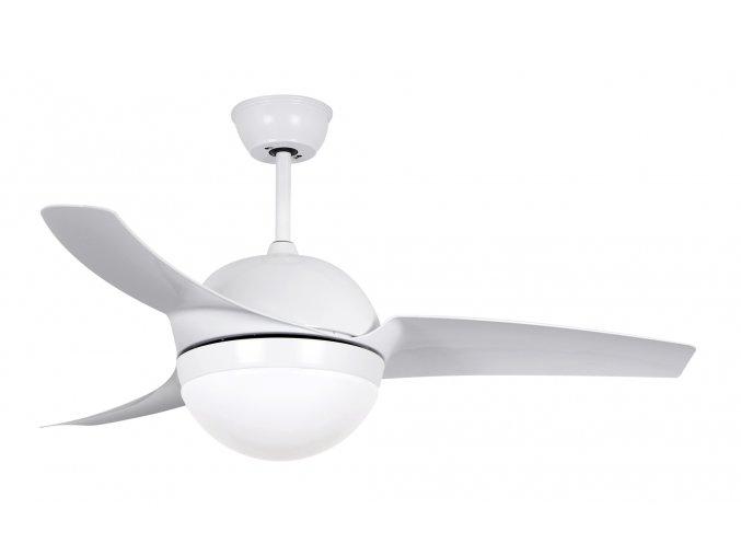 Sulion 072257 LLES, bílá, stropní ventilátor se světlem
