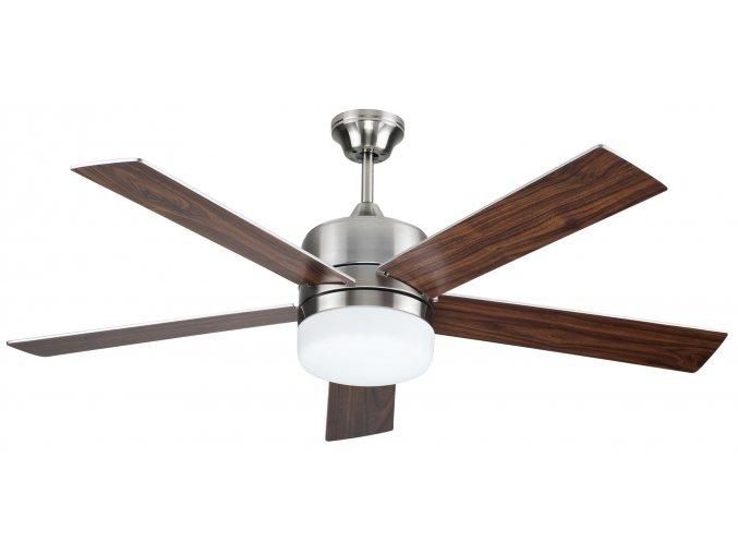 Sulion 075653 DENEL, hnědá, stropní ventilátor se světlem