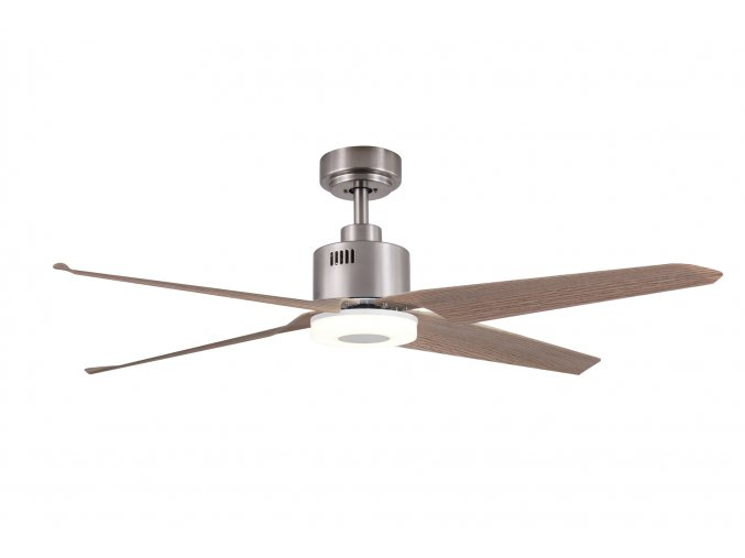 Sulion 072253 NERHEA, hnědá, stropní ventilátor s LED světlem a DC motorem