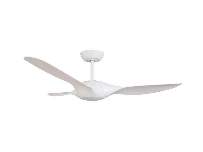 Stropní ventilátor s LED světlem Sulion 072243 ZAFIRO bílý