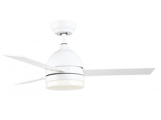 Sulion 072825 HANNA, bílá, stropní ventilátor s LED světlem