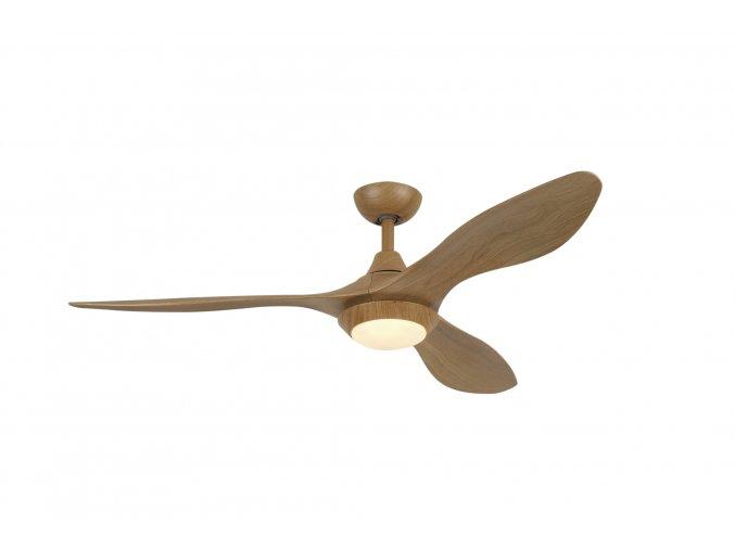 Sulion 075085 LOWA, hnědá, stropní ventilátor se světlem