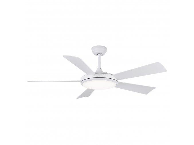 Sulion 075064 BERNAT, bílý, stropní ventilátor se světlem