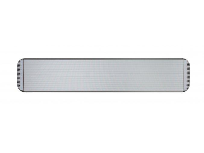 Tmavý infračervený tepelný panel CasaTherm HOTTOP 1800W, stříbrný