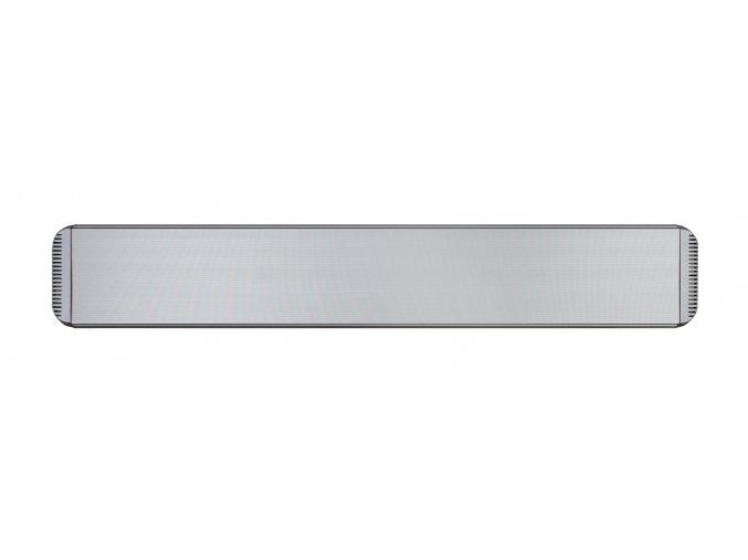 Tmavý infračervený tepelný panel CasaTherm HOTTOP 2400W, stříbrný