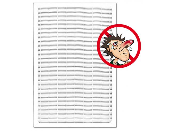 Filtr pro alergiky do čističky vzduchu s ionizátorem Comedes LR 200 (2v1: HEPA, uhlíkový)