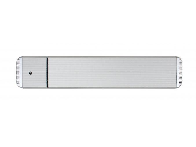 Tmavý infračervený tepelný panel CasaTherm HOTTOP/D 1800W, stříbrný