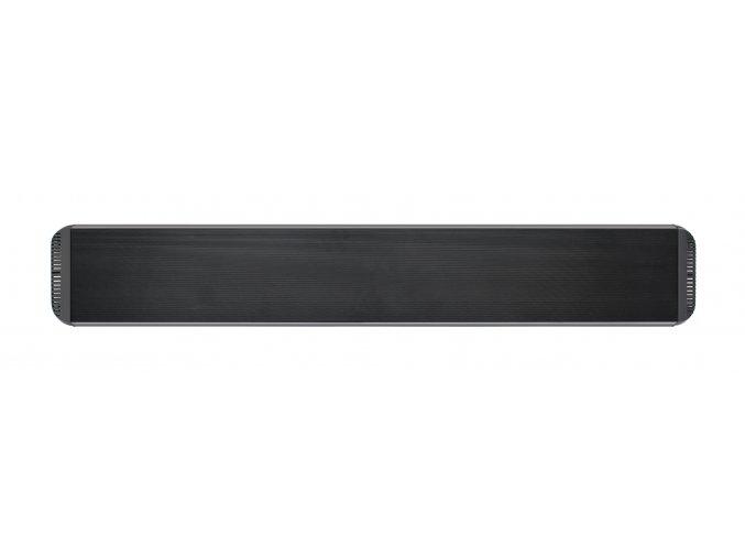 Tmavý infračervený tepelný panel CasaTherm HOTTOP 1800W, černý