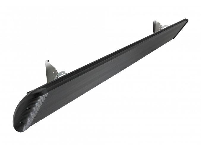 Tmavý infračervený tepelný panel CasaTherm HOTTOP Commercial 3000W, černý