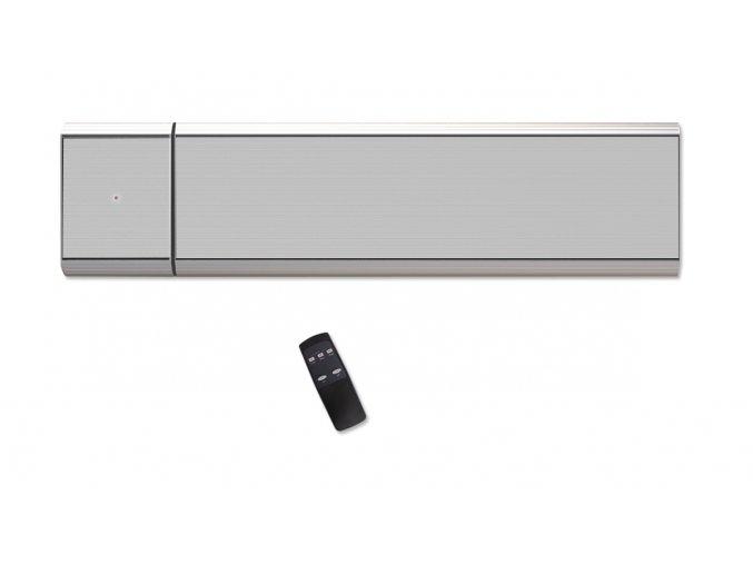Infračervený tepelný panel CasaTherm PLUS/D 1500W, stříbrnošedý