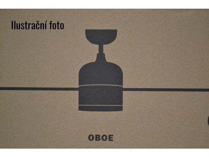 FARO 33610 OBOE, bílý/hnědý, stropní ventilátor