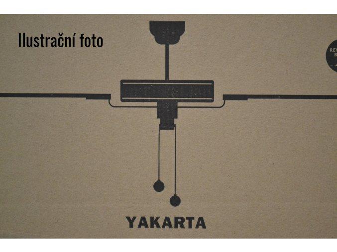 FARO 33713 YAKARTA, mahagon/tmavý ořech, hnědý, stropní ventilátor