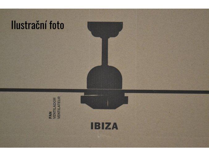 FARO 33284 IBIZA, bílý, stropní ventilátor  dálkové ovládání