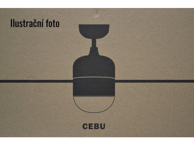 FARO 33606 CEBU, bílý a javor, stropní ventilátor se světlem zánovní (doba použití 1 týden, záruka 2 roky)