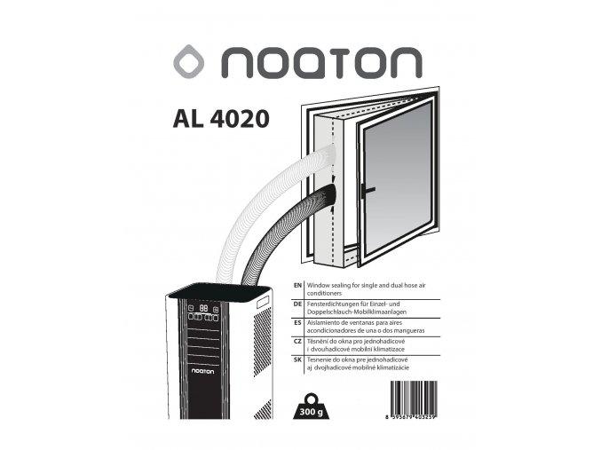 Noaton AL 4020, těsnění oken pro dvouhadicovou mobilní klimatizace (4m)