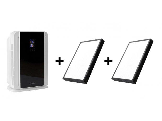 Čistička vzduchu Comedes LR 700 černo-bílá + 2 náhradní filtry