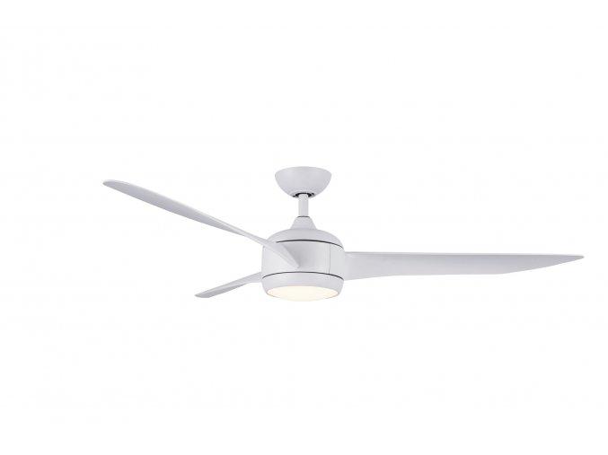 Sulion 072047 RAHU, bílá, stropní ventilátor s LED světlem