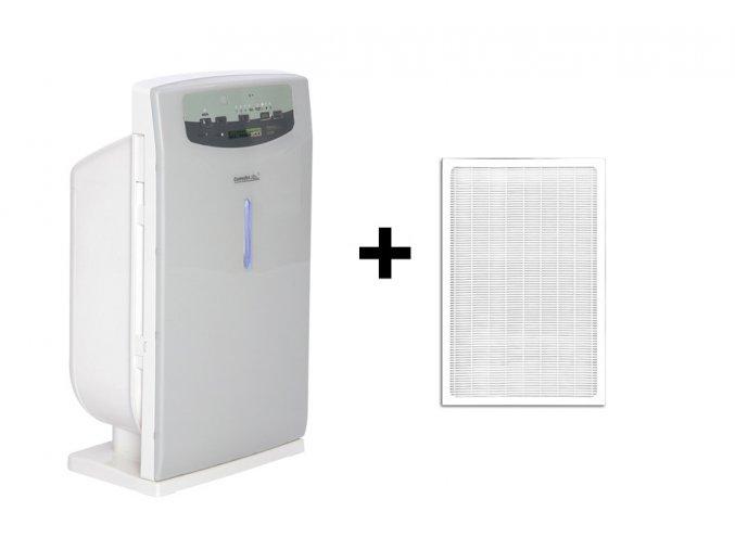 Čistička vzduchu Comedes LR 200 šedo-bílá + náhradní filtr (standardní)