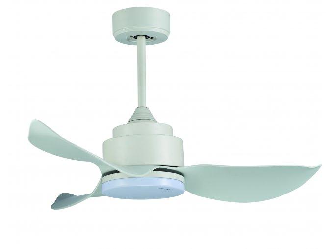 Sulion 072255 CRIXUS, bílá, stropní ventilátor s LED světlem a DC motorem