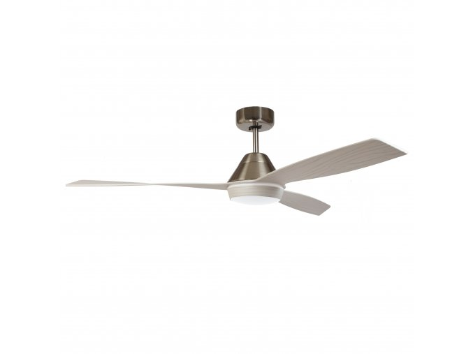 Sulion 075362 BALI, šedý, stropní ventilátor se světlem