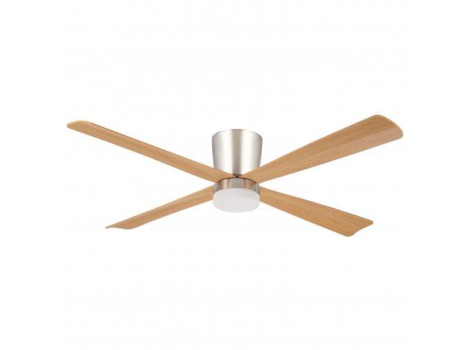 Sulion 072143 IPANEMA, hnědý, stropní ventilátor se světlem zánovní (doba použití 1 týden, záruka 2 roky)