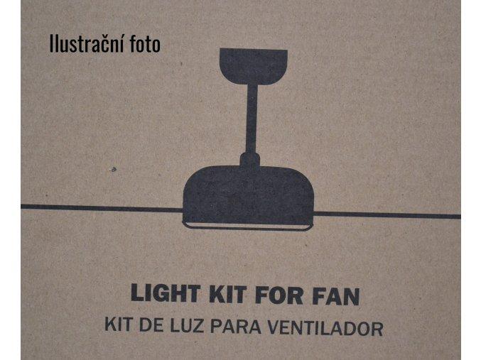 Světelný kit FARO 33420L bílý pro stropní ventilátor FARO 33420 NOVA
