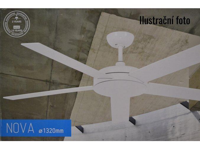 stropní ventilátor s osvětlením nebo bez světla Nova Faro