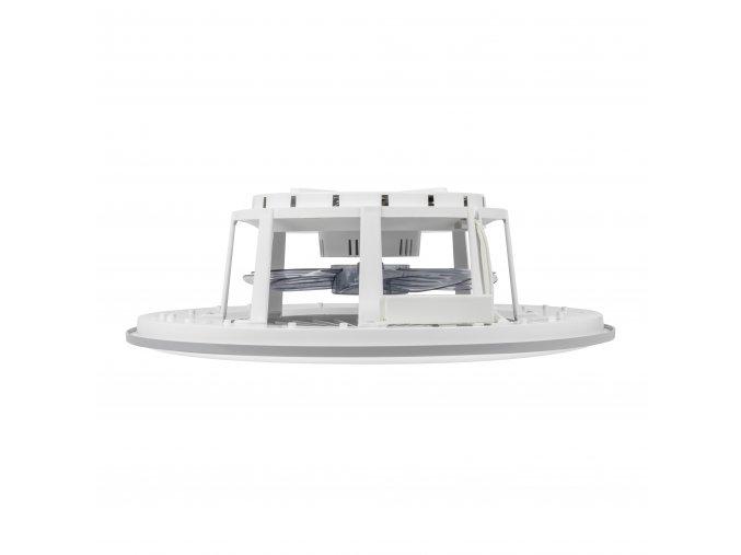 Stropní ventilátor se světlem Noaton 11056GR Vega - rozsvícený