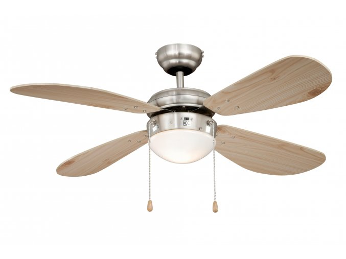 Stropní ventilátor AireRyder FN43335 Classic borovice/saténový nikl
