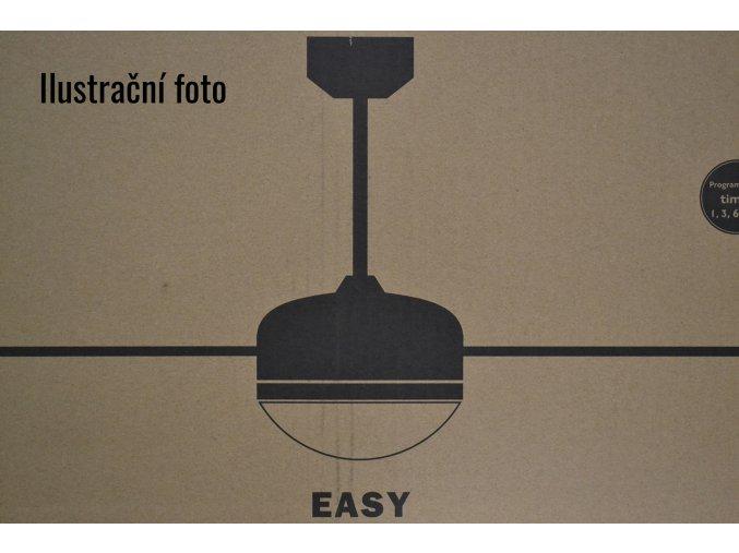 FARO 33416 EASY, šedý, stropní ventilátor se světlem, zánovní (doba použití 1 týden), záruka 2 roky