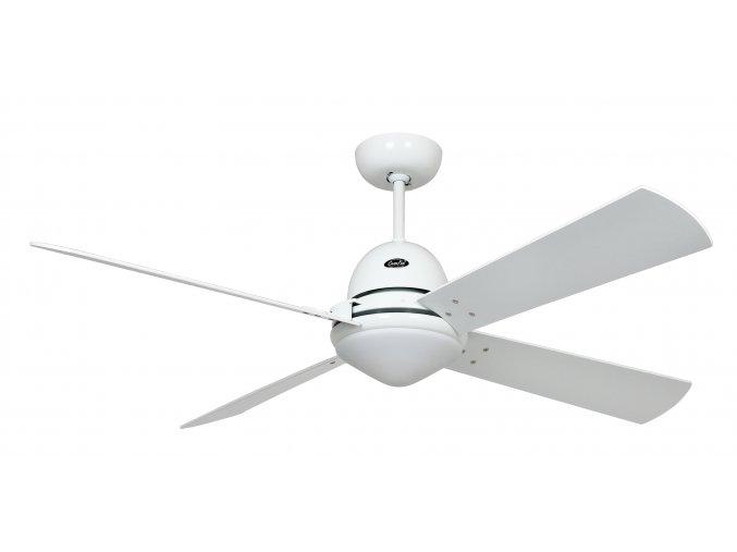 STROPNÍ VENTILÁTOR SE SVĚTLEMCasaFan 9314254 LIBECCIO třešeň, javor, bílý a světle šedý, stropní ventilátor se světlem