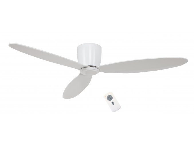 Stropní ventilátor bez světla CasaFan Eco Plano bílý