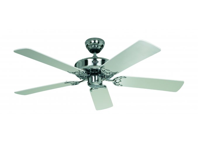 Stropní ventilátor CasaFan 513202 CLASSIC ROYAL bílý/saténový chrom