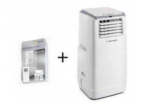 mobilní klimatizace Trotec PAC 4100 E s těsněním oken pro mobilní klimatizace Trotec AirLock 100