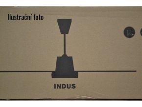 Stropní ventilátor bez světla Faro Indus chrom