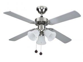 Stropní ventilátor se světlem Sulion HORNET 075439 - šedá
