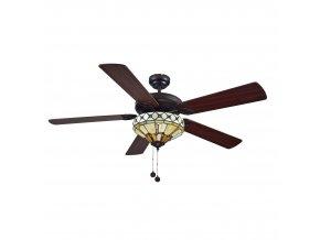 Stropní ventilátor Sulion NEVADA 075056 ořech