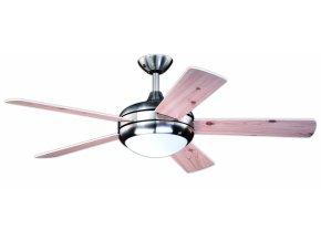 Stropní ventilátor se světlem Aireryder FN75537 -  oboustranné lopatky, borovice