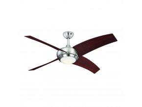 Stropní ventilátor se světlem AireRyder FN66636 BOREALIS, ořech