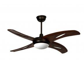 Stropní ventilátor Sulion Islet 075677 se světlem