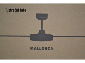 FARO 33351 MALLORCA, mahagon a bělený dub, stropní ventilátor  dálkové ovládání
