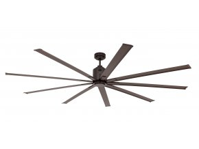 CasaFan 922014 BIG SMOOTH ECO, tmavě hnědá, stropní ventilátor